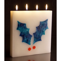 Christmas - Large Tablet Candle