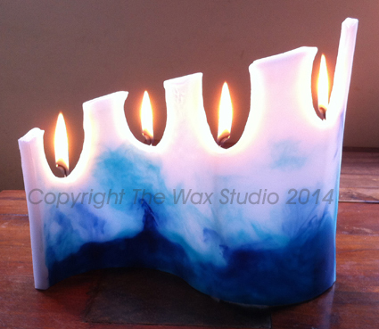 Designer Candle for retail client