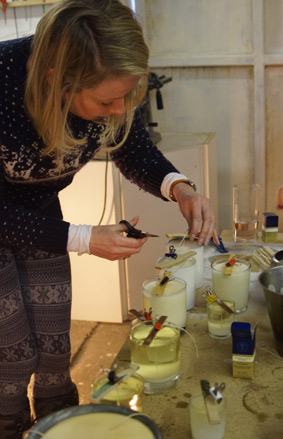 Candle making course1