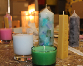 candles made