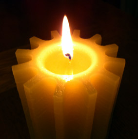 Cognition Candle burning
